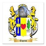 Espino Square Car Magnet 3