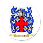 Espinel Round Car Magnet