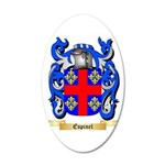 Espinel 20x12 Oval Wall Decal