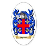 Espinazo Sticker (Oval 50 pk)