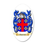 Espinas 35x21 Oval Wall Decal