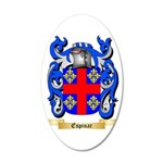 Espinar 35x21 Oval Wall Decal