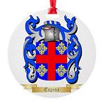 Espina Round Ornament