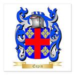 Espin Square Car Magnet 3