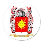 Espasa Round Car Magnet