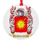 Esparza Round Ornament