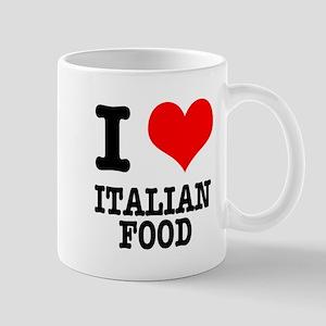 I Heart (Love) Italian Food Mug