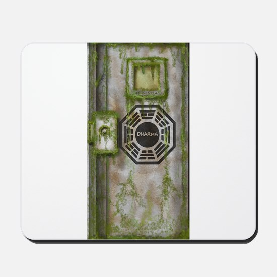 Lost Mossy Hatch Dharma Mousepad