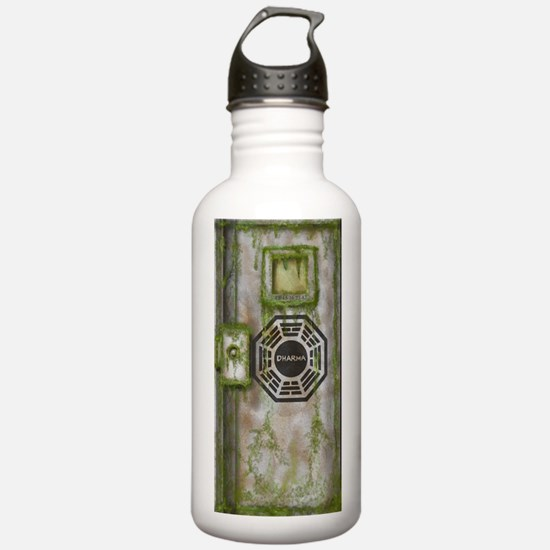 Lost Mossy Hatch Dharma Water Bottle