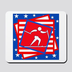 Cross Country American Style Mousepad