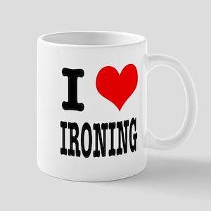 I Heart (Love) Ironing Mug
