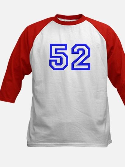 #52 Kids Baseball Jersey