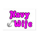Navy Wife ver2  Mini Poster Print