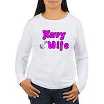 Navy Wife ver2 Women's Long Sleeve T-Shirt