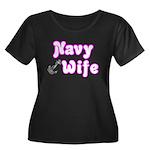 Navy Wife ver2 Women's Plus Size Scoop Neck Dark