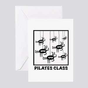 Pilates Class Greeting Cards (Pk of 10)