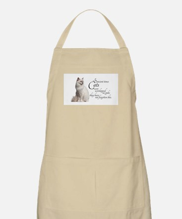 Birman Cat Apron