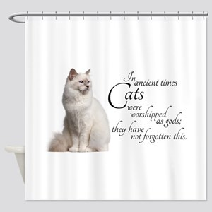 Birman Cat Shower Curtain