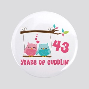 43rd Anniversary Owl 3 5 On