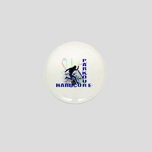 Free Running Parkour Hardcore Mini Button