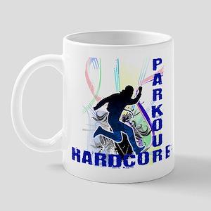 Free Running Parkour Hardcore Mug