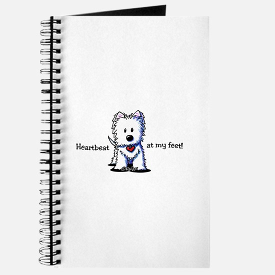 Westie Heartbeat Journal