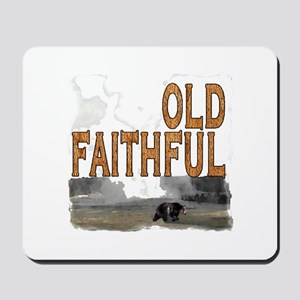 Old faithful Bear Mousepad
