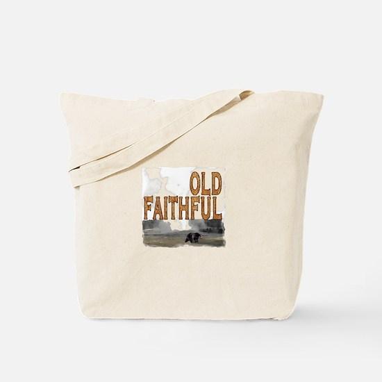 Old faithful Bear Tote Bag