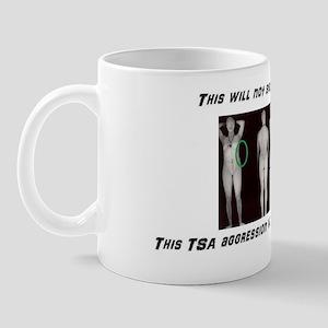 This TSA Aggression will not stand, man Mug