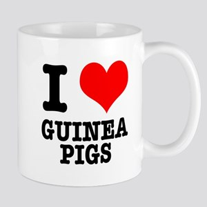 I Heart (Love) Guinea Pigs Mug