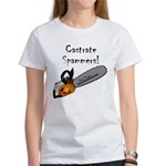 Castrate Spammers Women's T-Shirt