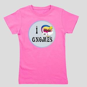 I Dream of Gnomes Girl's Tee