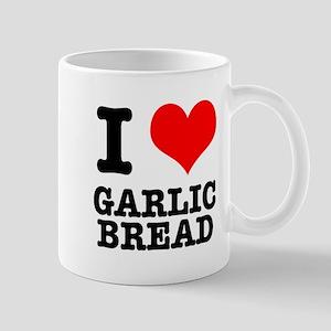 I Heart (Love) Garlic Bread Mug