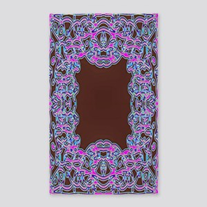 In The Pink Colorfoil Bandanna 3'x5' Area Rug