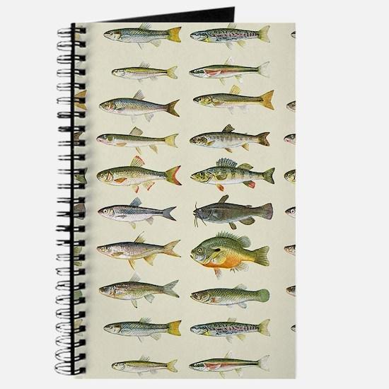 Freshwater Fish Chart Journal