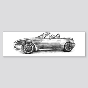 silver shadow mx5 Bumper Sticker