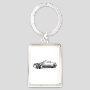 silver shadow mx5 Keychains