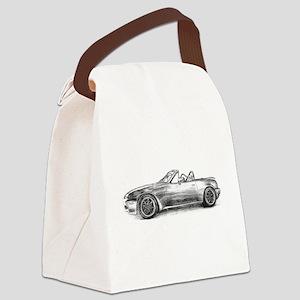 silver shadow mx5 Canvas Lunch Bag
