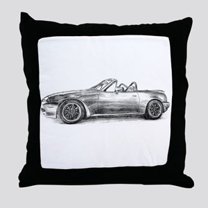 silver shadow mx5 Throw Pillow