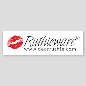 Ruthieware Logo Bumper Sticker
