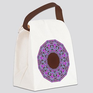 In The Pink Colorfoil Bandanna Kaleido Canvas Lunc