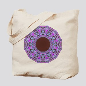 In The Pink Colorfoil Bandanna Kaleido Tote Bag