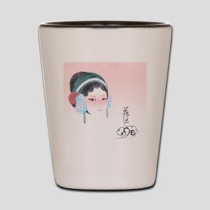 PekingOperaHuadan2 Shot Glass