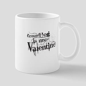 Ground Hog is My Valentine Mugs