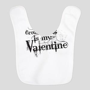 Ground Hog is My Valentine Bib