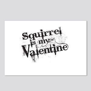 Squirrel is My Valentine Postcards (Package of 8)