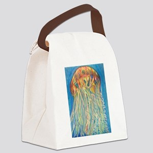 Jelly Fish Canvas Lunch Bag