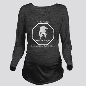 Our Wounded Long Sleeve Maternity T-Shirt