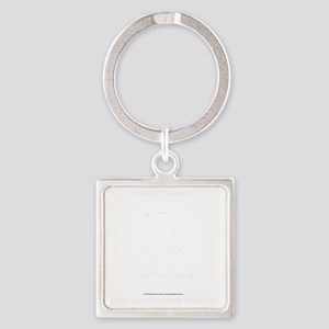 Our Wounded Square Keychain