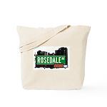 Rosedale Av, Bronx, NYC Tote Bag